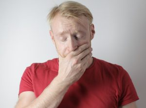 Man with tooth pain needs to see Boise ID emergency dentist at Blaisdell Family Dentistry